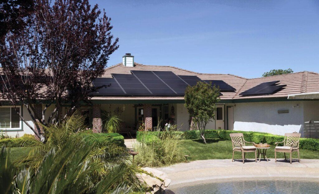 10kw solar system installed on typical Australian house